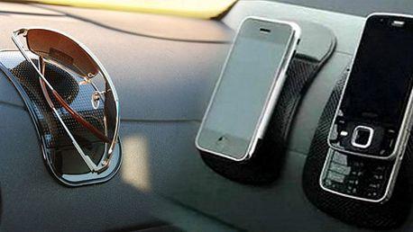 Nanopodložka udrží Vaše mobilní telefony, PDA, brýle, GPS navigace, mp3! Je odolná slunečnímu záření a vysokým teplotám a je vhodná kpoužití na vodorovnou i vertikální ploch