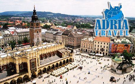 2-dňový poznávací ZÁJAZD do KRAKOWA a WIELICZKY! Spoznajte historické centrum a najkrajšie miesta poľskej metropoly s ADRIA TRAVEL! Len teraz so zľavou až 44%!