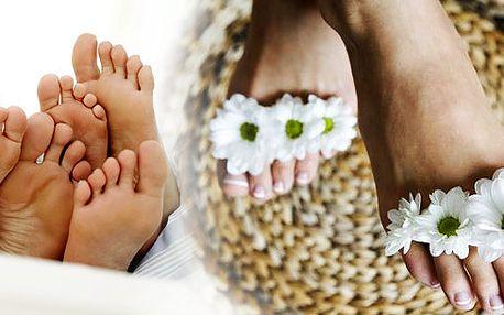 Pedikúra včetně depilace, masáže nohou a chodidel, lakování nehtů nohou 3UV technologií - Shellac! Super plný balíček nejrůznějších procedúr pro Vaše nohy!