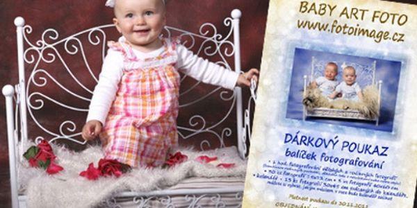 Velký balíček dětské a rodinné ateliérové fotografie se slevou 50%! Stylové a hravé fotografie od profesionální fotografky. V ceně je už navíc i 30 fotografií, velký 13 stránkový kalendář a 3 velké fotografie na zeď – ideální vánoční dárek! Možnost darování tohoto balíčku fotografování jako vánoční dárek – speciální vánoční poukaz na fotopapíře.