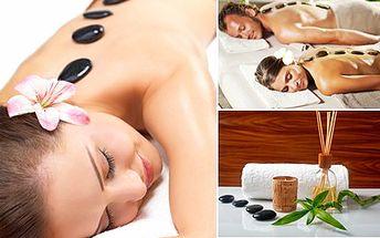 Dopřejte si malé odměny! Třeba masáž lávovými kameny. 52% sleva na speciální uvolňující masáž nahřátými lávovými kameny v profesionálním Studiu ŠIK.