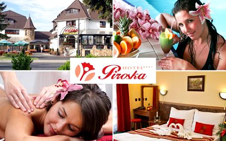 Užijte si náramně podzimní čas, v maďarském wellnessu stres vezme ďas. 40% sleva na relaxační pobyt pro DVA na 4 dny v hotelu Piroska včetně polopenze, uvolňujících masáží a volného vstupu do wellness a spa.