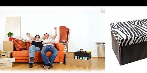 199 Kč za rozkládací stoličku s úložným prostorem. Designový doplněk 2v1 vysoké kvality pro Vás máme nyní s 60% slevou.