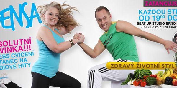 189 Kč za permanentku na PĚT vstupů na jakoukoli taneční lekci. Žhavá novinka Densa, oblíbená Zumba nebo Street dance se slevou 52 %.