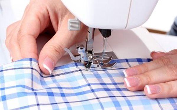 Úpravy i šití oděvu za polovinu