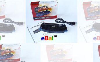 PlayStation Portable SONY zvuková kolíbka stojan Genius na sledování filmů. Sleva 55% jen na www.eBai.cz! Umožňuje nabíjet, sledovat filmy a také poslouchat hudbu. Poštovné není zahranuto v ceně poukazu.