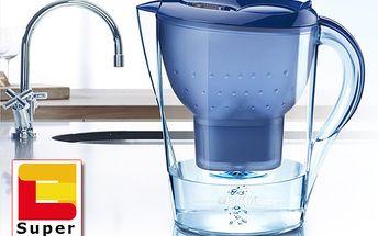 Dokonale přefiltrovaná voda díky konvici Brita Marella. Unikátní výrobek nyní k dostání se skvělou slevou 50 %! Pijte zdravě jen za 199 Kč! Praktický a moderní design!