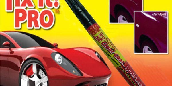 Profesionální opravné pero FIX IT PRO na poškozený lak! Škrábance na autě jsou minulostí! Odolné vúči vodě a UV záření. Stačí jen nanést, přeleštit a ŠKRÁBANCE JSOU PRYČ!