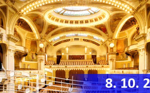 Exkluzivní místa (1. až 4. řada) na koncert vážné hudby v Obecním domě ve Smetanově síni s neskutečnou slevou 68 %! Na koncertě vystoupí přední zahraniční sólisté a muzikanti, doprovází Filharmonie Hradec Králové!