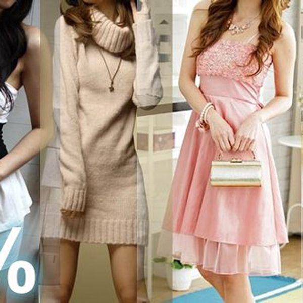 Poukaz na 50% SLEVU na nákup v eshopu JenStylove.cz jakéhokoliv zboží ze sekce Šaty (Dámská móda) v NEOMEZENÉ celkové ceně