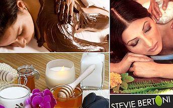 Vyberte masáž dle vašeho gusta. Lymfatická, Tibet, med či čokoláda hustá? S 50% slevou si z balíčku 4 různých masáží vyberte tu pravou pro vás.