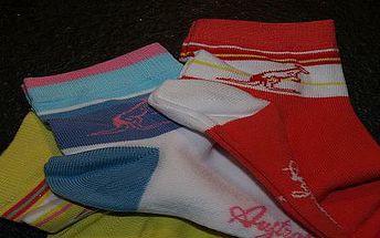 3 páry vícebarevných dámských ponožek AUSTRALIAN vč. poštovného za 99,-Kč!!!
