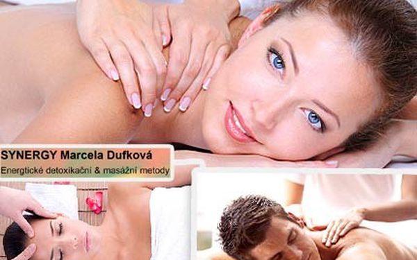 Trápí Vás tělo, mysl i duše? Jediné, co pomůže, jsou detoxikační masáže! Se slevou 50 % se uvolněte při hodinové energetické a detoxikační masáži.