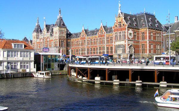 4 denní zájezd do Holandska (Amsterdam, květinové trhy, Alkmaar,...) již za 2380 Kč!