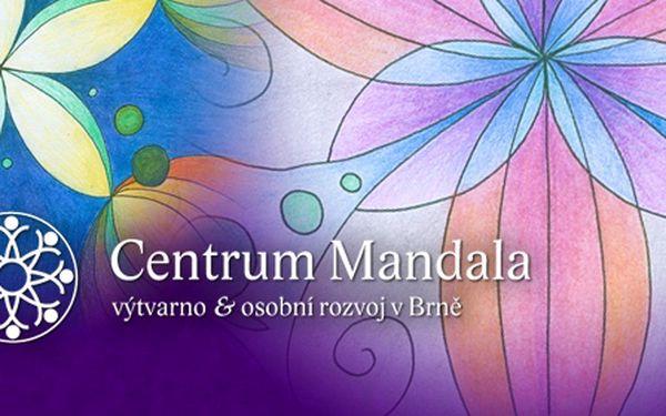 Vytvoření originální osobní mandaly. Učiňte první krok ke kvalitnějšímu životu jen za 300 Kč!