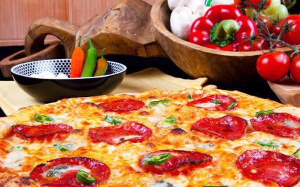 Dvě pizzy za cenu jedné v Praze!