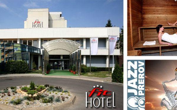Jazzový víkend pro dva! Vstupenky na vyhlášený festival, příjemné ubytování v Hotelu Fit*** a sauna