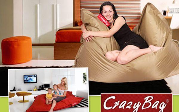 Chcete pohodlně lenošit v teple domova nebo v bazénu? Originální sedací pytel CrazyBag s 64% slevou vám to umožní! IDEÁLNÍ DÁREK s využitím ve všech ročních obdobích!