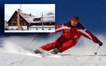 LYŽAŘSKÝ TÝDEN v hotelu. Ubytování se snídaní. 300 m od Krušnohorské magistrály, 6 km od Božího Daru a 12 km od SKI areálu Klínovec. Příjemný hotel s rodinnou atmosférou v lyžařském regionu Krušných hor. Užijte si pohodu, super lyžovačku a skvělé výlety po okolí.