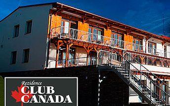 Skvělých 2190 Kč za ubytování v apartmánech REZIDENCE CLUB CANADA u Lipenského jezera pro 2 osoby na 2 noci! V ceně volný vstup do fitness a sauny po celý pobyt. Relaxujte a odpočívejte se slevou 71 %!