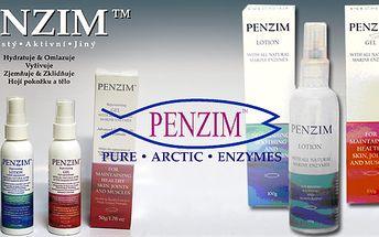 PENZIM™ slučuje vědu s mořskou přírodou a tím vytváří prokazatelně nejdokonalejší volně dostupný a prodejný výrobek na pokožku, klouby a svaly.. Omlazuje,hydratuje, hojí a léčí.