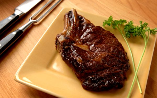 200g argentinského Rib Eye steaku na rozmarýnu jen za 135 Kč!