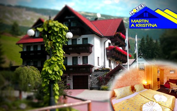 Zimní radovánky ve Špindlerově Mlýně? Ano, pobyt pro 2 osoby s bufetovou snídaní a večeří na 2 noci v Hotelu Kristýna.