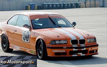 Ponúkame Vám rýchlu jazdu plnú adrenalínu pod vedením profesionálneho automobilového pretekára, 5 kôl jazdy na pretekárskom špeciály BMW M3 GT iba za 150 Eur!