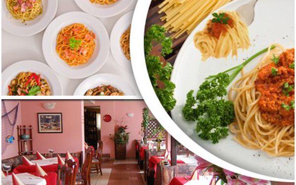 Pouze 55 Kč místo 128 Kč za skvělé italské špagety! Chuť Itálie, kvalitní a čerstvé suroviny v La Piazzetta!!