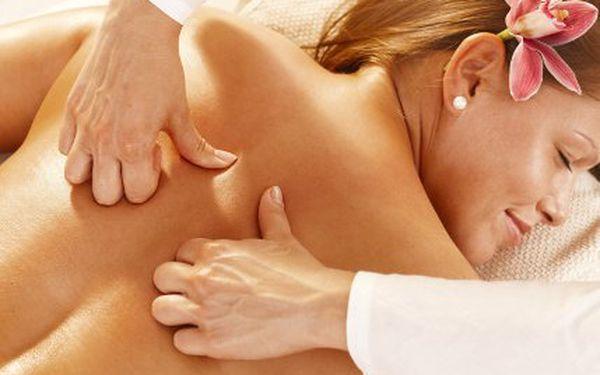 Sauna, aromaterapie a masáž zad a šíje!