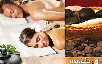 Dopřejte si malé odměny! Třeba masáž lávovými kameny. 45% sleva na uvolňující masáž celé zadní části těla lávovými kameny z Fiji od opravdové profesionálky Pavly Solaříkové.