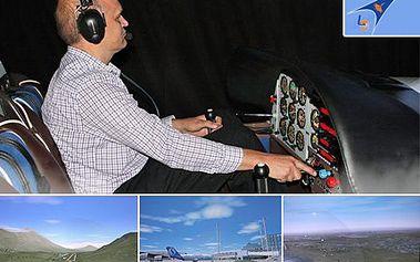 Zkuste si, jaké to je být pilotem! Profesionální letecký trenažer máte prakticky za plotem. 47% sleva na let na profesionálním leteckém trenažeru akrobatického letadla Zlín Z242L v prostorách vojenského letiště Praha Kbely.