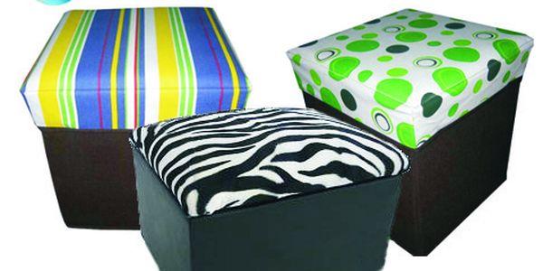 Vychytaná stolička 2 v 1 o rozměrech 30 x 31 x 31 cm. Posaďte se a ještě uložte drobnosti, které doposud neměli své místo! Designová stolička s 55% slevou jen za 179 Kč!