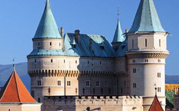 6denní pobyt pro dva v ***hotelu Regia v lázeňském městě Bojnice. Čeká na vás ZOO, termální lázně, sjezdovky a návštěva zámku