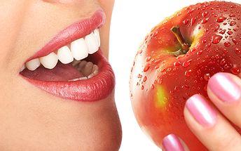 Mějte zoubky jako perličky! S ordinačním bělením zubů se efektivně zbavíte nepříjemných skvrn od potravin, kávy, kouření a díky voucheru ušetříte 2100 korun!