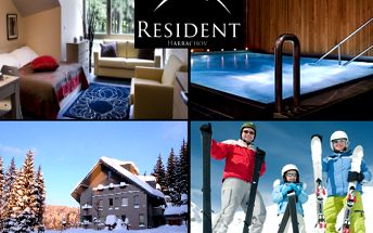 3denní luxusní Ski & Wellness pobyt pro DVA s polopenzí v Harrachově s 50% slevou! Bohatá nabídka procedur a aktivit! Jako bonus Zumba a solná jeskyně!