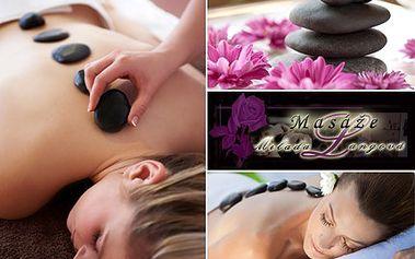 Dopřejte si malé odměny! Třeba masáž lávovými kameny. 50% sleva na 80 minut uvolňující masáže v salonu Fredina kouzelná masérna.