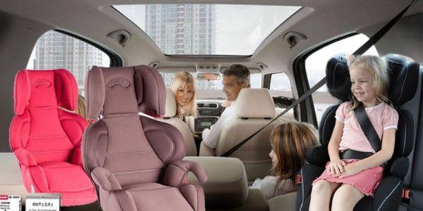 Certifikovaná autosedačka skupiny 2/3 pro dítě od 15 kg do 36 kg za pouhých 1967 kč! Cestujte bezpečně! Vysoká kvalita použitých materiálů, evropské certifikáty kvality!