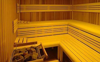 Dvouhodinový vstup do finské sauny a odpočívárny. 60 min. v sauně + 60 min. v odpočívárně. Možnost zapůjčení osušky nebo prostěradla