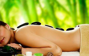 249 Kč za masáž lávovými kameny - HOT STONES! Užijte si 45 minut naprostého relaxu s 51 % slevou!