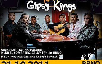 Přijďte rozhýbat svůj latinský temperament a užijte si světovou kapelu Gipsy Kings se slevou 40 %. Slavná kapela Gipsy Kings se vrací po 4 letech do brněnské haly Rondo. Nenechte si ujít jejich jediný koncert!