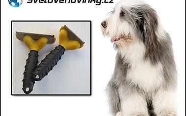Pořiďte si speciální hřeben Furminator šíře 10,16 cm, který usnadňuje péči o srst vašich mazlíčků! Omezuje vypadávání srsti koček a psů až o 90 %! Zdravá srst jen za 239 Kč!