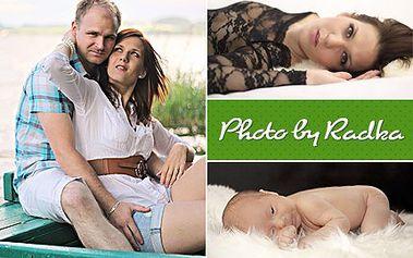 Tohle si dáte za rámeček. 15 profesionálních fotografií dle vašeho přání. S 50% slevou ateliérové nebo exteriérové fotografie s retuší a líčením v ceně.