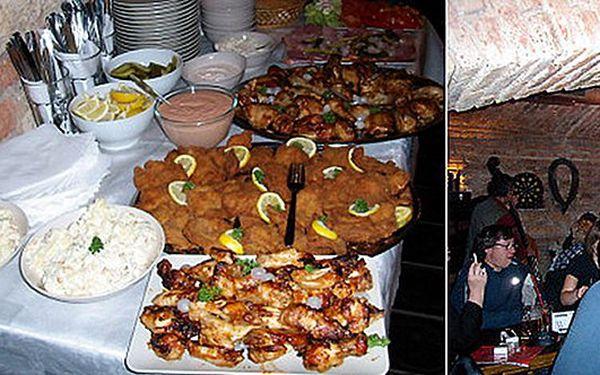 Jedinečná nabídka! Plánujete rodinnou oslavu, nebo firemní večírek? Pojďte do tradiční Hospůdky Cihelna. Rautový stůl a láhve Sektu, nebo vína, nyní jen pro Vás se slevou 40% !