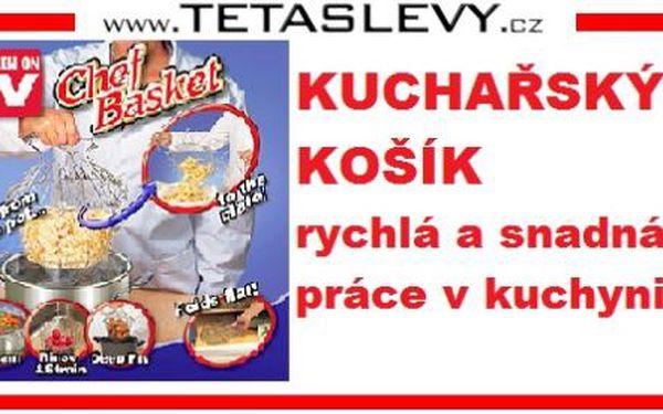 Kuchařský košík na těstoviny 199kč