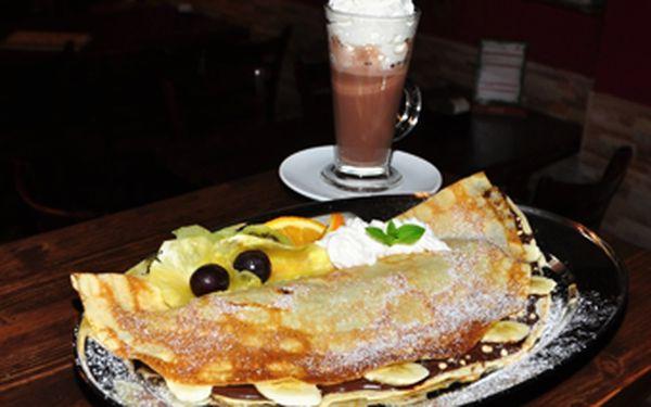 Dopřejte si 2x lahodnou francouzskou palačinku s horkou čokoládou či nealkem spolu se dvěma vstupy do nejluxusnější solné jeskyně se slevou 50 %! Vyberte si mezi 2 variantami a užijte si maximální relax v Café-solné jeskyni!