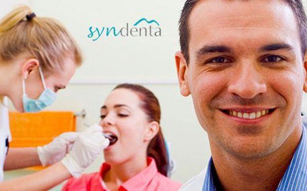 499 Kč za profesionální dentální hygienu. Komplexní vyšetření, dokumentace intraorální kamerou, odstranění zubního kamene a odborná instruktáž se slevou 50 %.