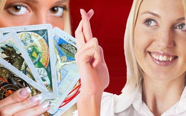 199 Kč za výklad z tarotových karet ve Zlíně. 30 minut, které napoví v lásce, práci, penězích i při důležitých rozhodnutích se slevou 50 %.