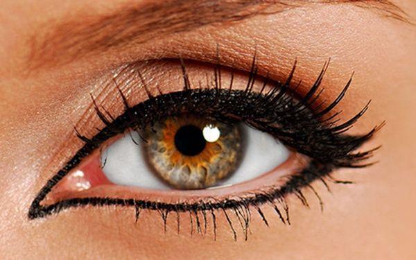 Permanentní make-up - dolní i horní oční linky! Mějte pohled bohyně za skvělou cenu!