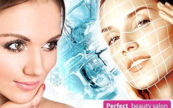 Vyzkoušejte certifikovanou kryolipolýzu obličeje a každá vaše vráska zapomene, že je. 82% sleva na kryolipolýzu obličeje a aplikaci luxusní ZLATÉ masky v Perfect beauty salonu.